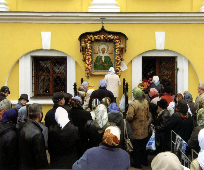 Где находится мощи матроны московской покровский монастырь