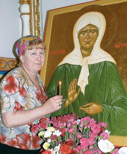 Матрона Московская, святая матушка Матрона